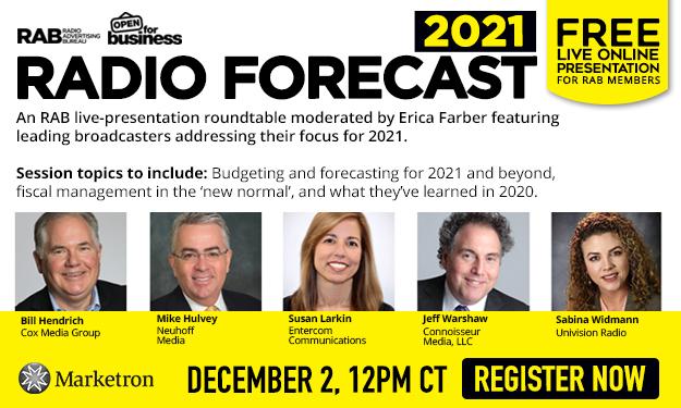 2021 Radio Forecast
