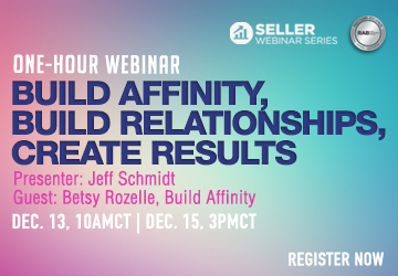 Build Affinity, Build Relationships, Create Results