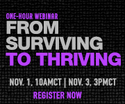 Webinar-From Surviving to Thriving
