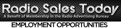 Sales & Management Employment Opportunities
